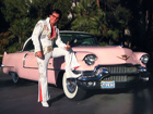 Elvis Pink Caddy